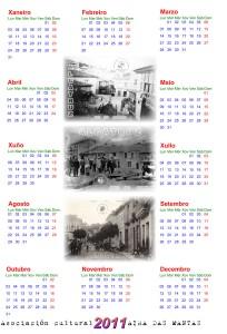Calendario Maceda 2011